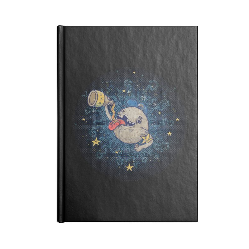 Moonshine Accessories Blank Journal Notebook by Made With Awesome
