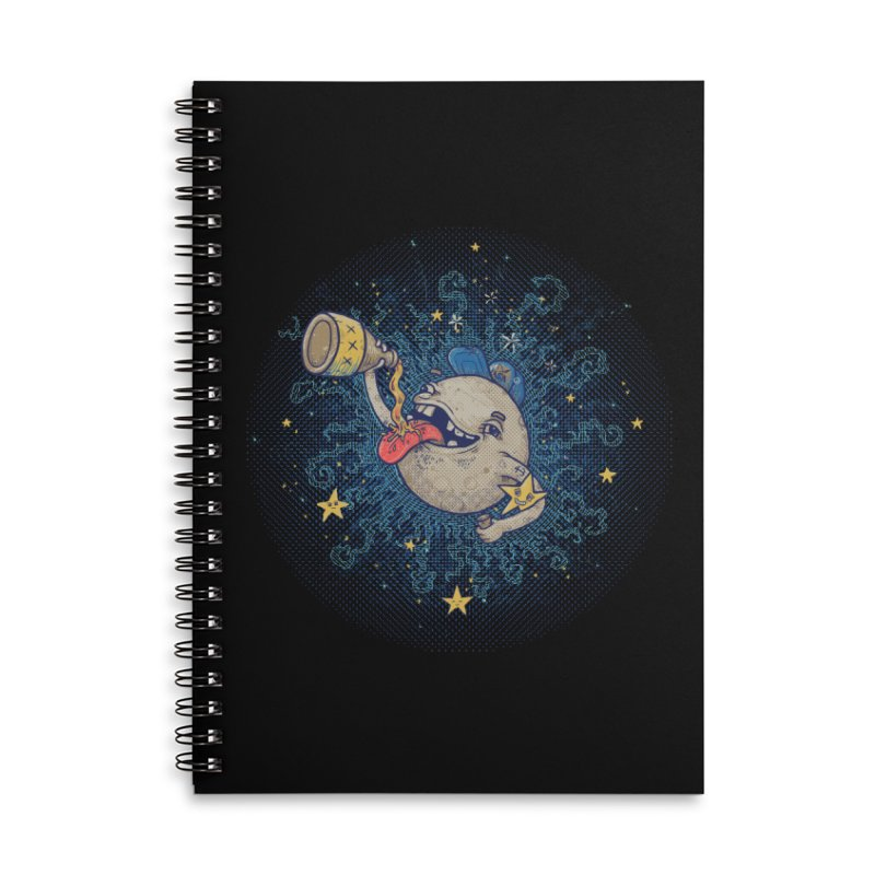 Moonshine Accessories Lined Spiral Notebook by Made With Awesome