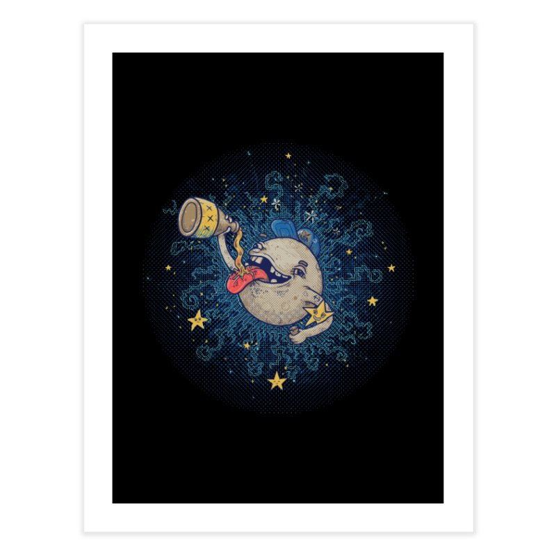 Moonshine Home Fine Art Print by Made With Awesome