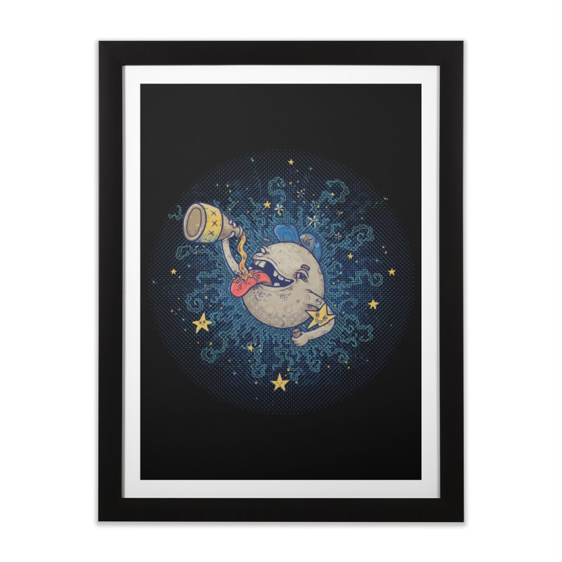 Moonshine Home Framed Fine Art Print by Made With Awesome
