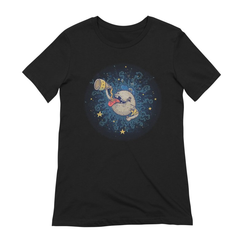 Moonshine Women's Extra Soft T-Shirt by Made With Awesome
