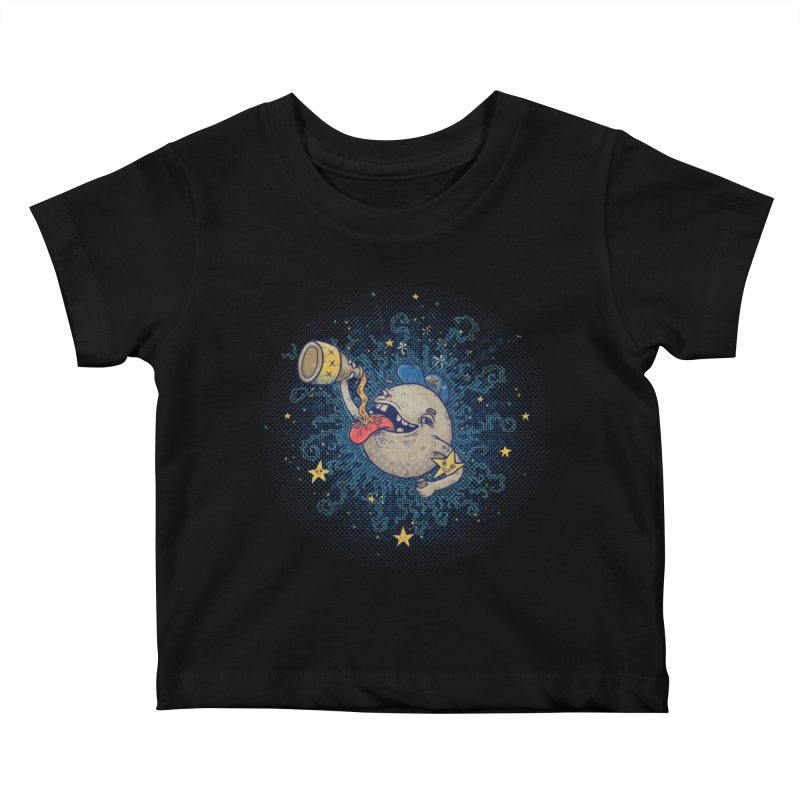 Moonshine Kids Baby T-Shirt by Made With Awesome