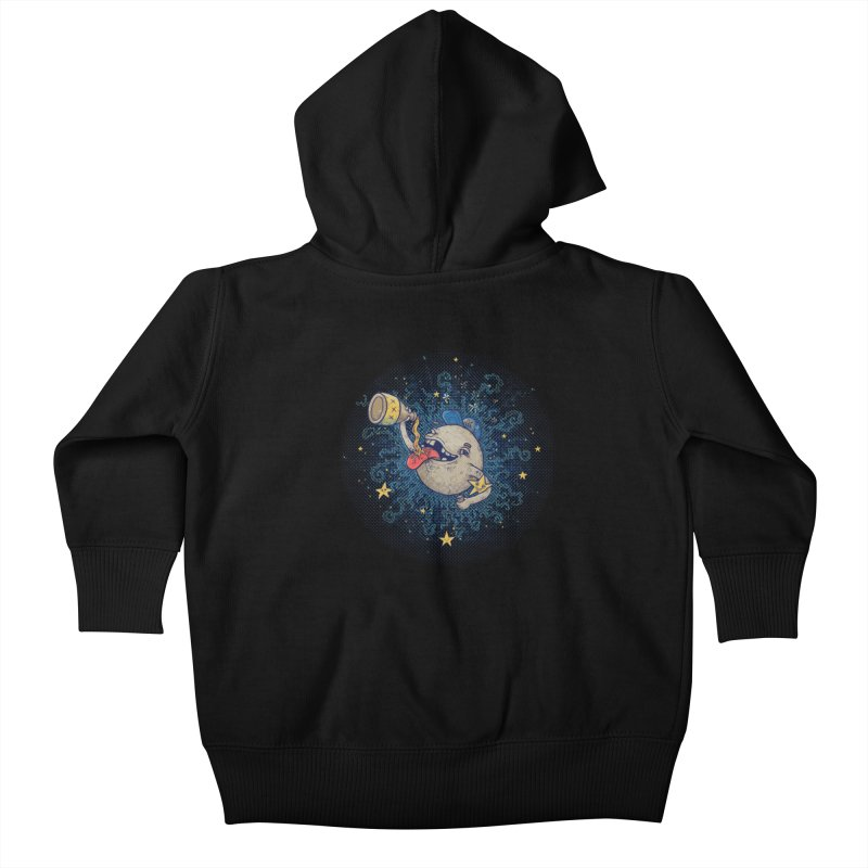Moonshine Kids Baby Zip-Up Hoody by Made With Awesome
