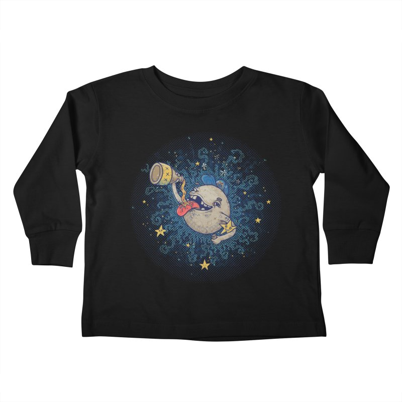 Moonshine Kids Toddler Longsleeve T-Shirt by Made With Awesome