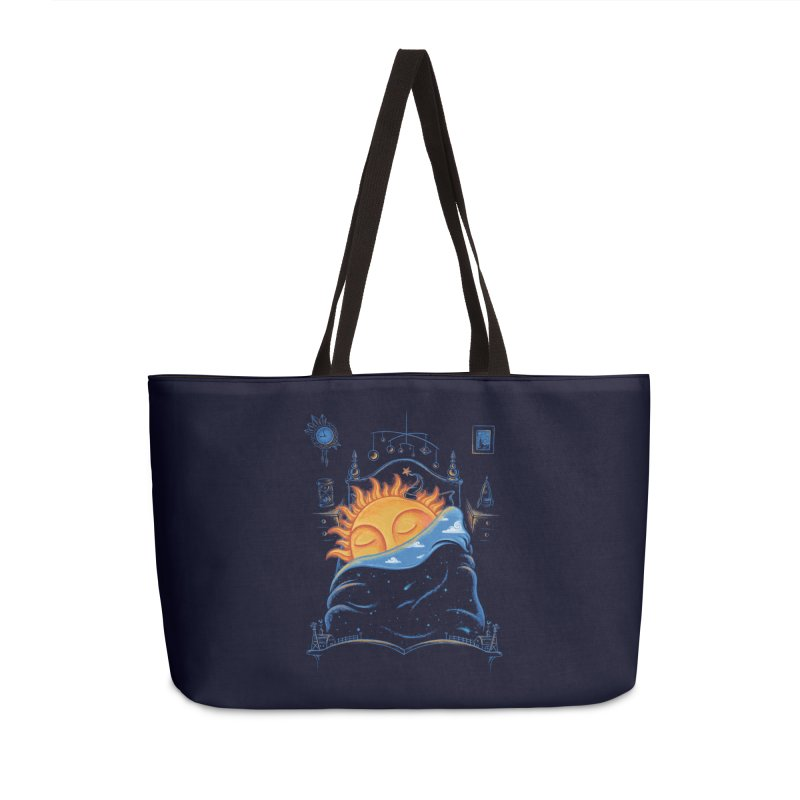Goodnight Sun Accessories Weekender Bag Bag by Made With Awesome
