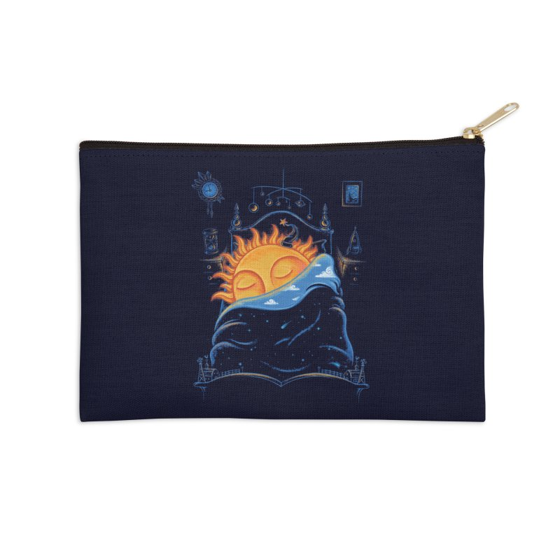 Goodnight Sun Accessories Zip Pouch by Made With Awesome