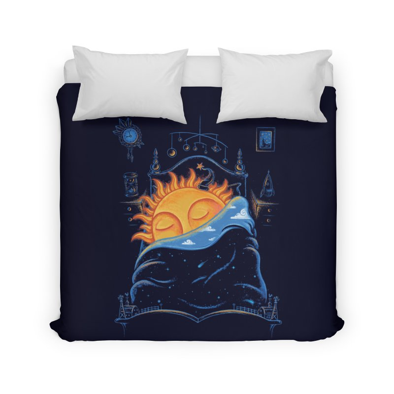 Goodnight Sun Home Duvet by Made With Awesome
