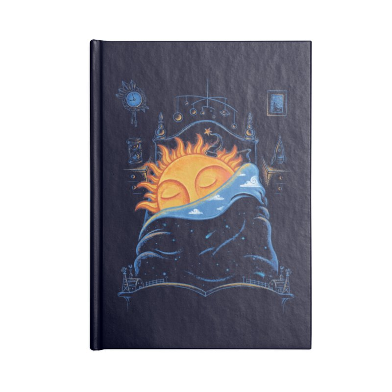 Goodnight Sun Accessories Blank Journal Notebook by Made With Awesome