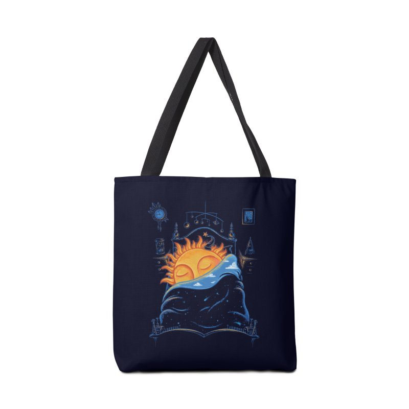 Goodnight Sun Accessories Tote Bag Bag by Made With Awesome