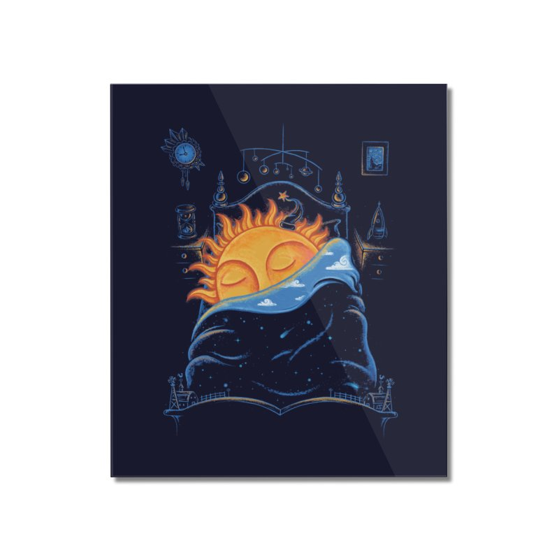 Goodnight Sun Home Mounted Acrylic Print by Made With Awesome