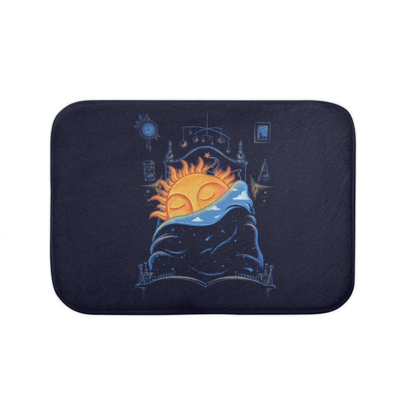 Goodnight Sun Home Bath Mat by Made With Awesome
