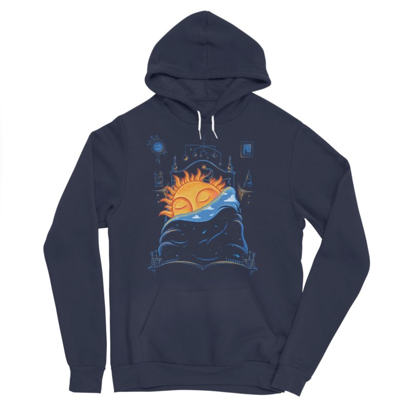 Goodnight Sun Men's Sponge Fleece Pullover Hoody by Made With Awesome