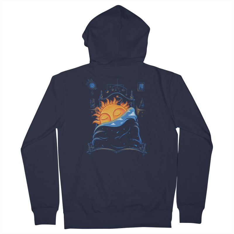 Goodnight Sun Men's French Terry Zip-Up Hoody by Made With Awesome