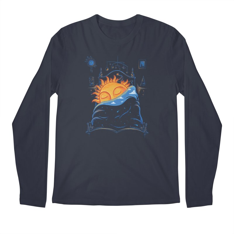 Goodnight Sun Men's Regular Longsleeve T-Shirt by Made With Awesome