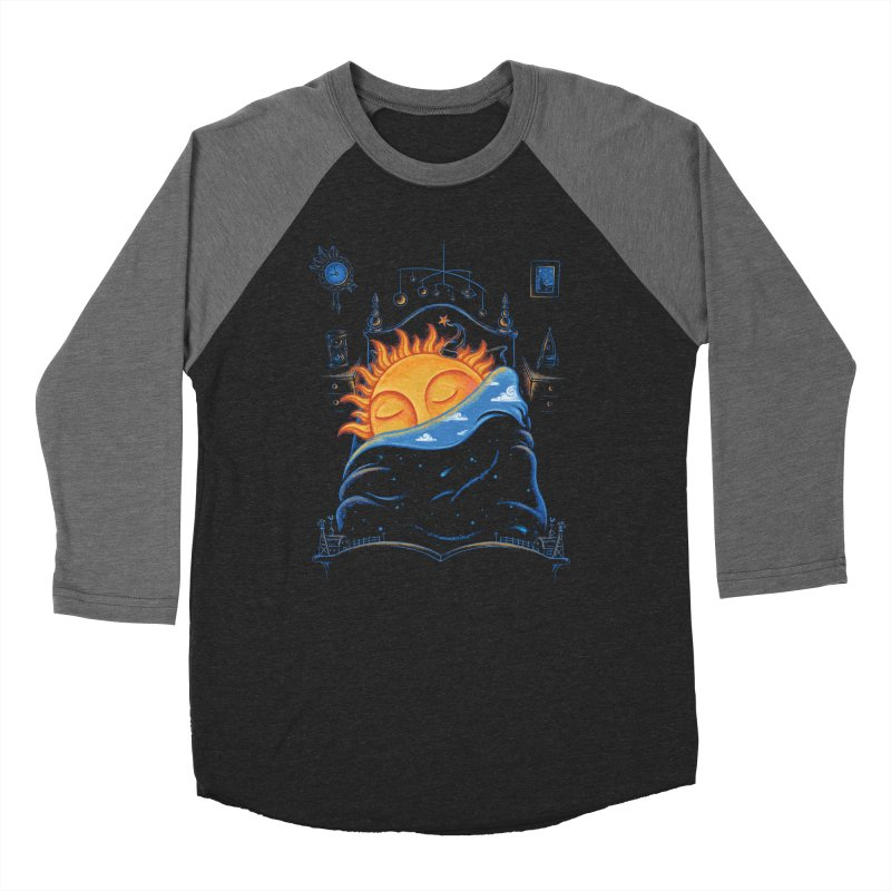 Goodnight Sun Men's Baseball Triblend Longsleeve T-Shirt by Made With Awesome