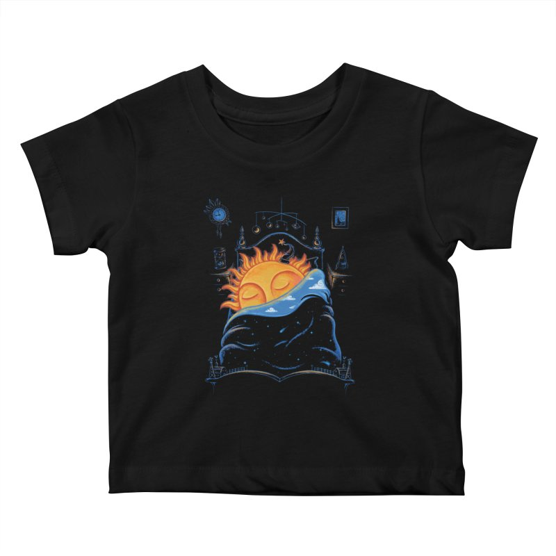 Goodnight Sun Kids Baby T-Shirt by Made With Awesome