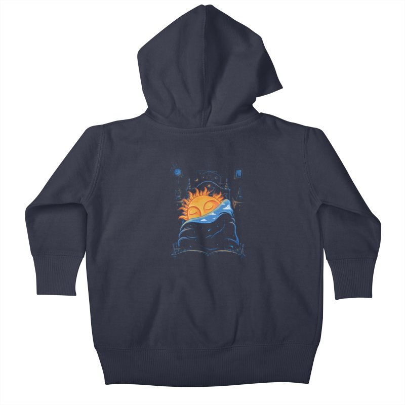 Goodnight Sun Kids Baby Zip-Up Hoody by Made With Awesome