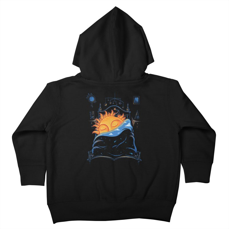 Goodnight Sun Kids Toddler Zip-Up Hoody by Made With Awesome