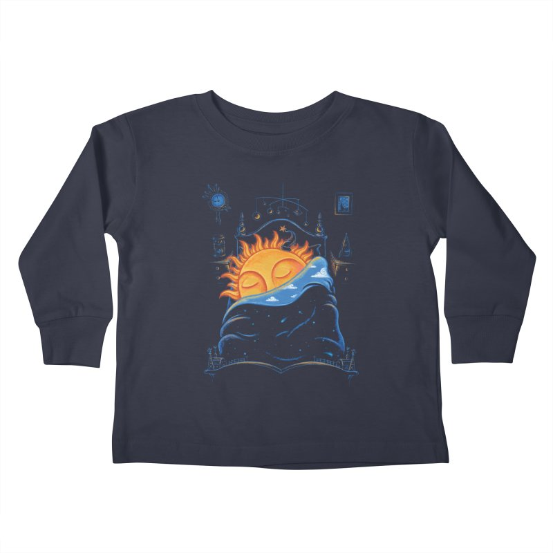 Goodnight Sun Kids Toddler Longsleeve T-Shirt by Made With Awesome