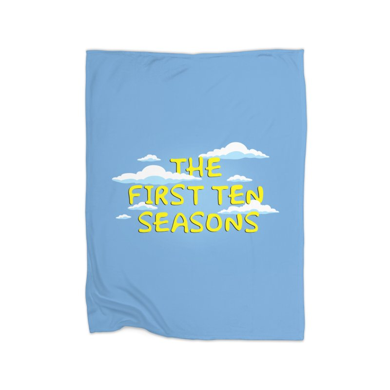 Best. Episodes. Ever. Home Fleece Blanket Blanket by Made With Awesome