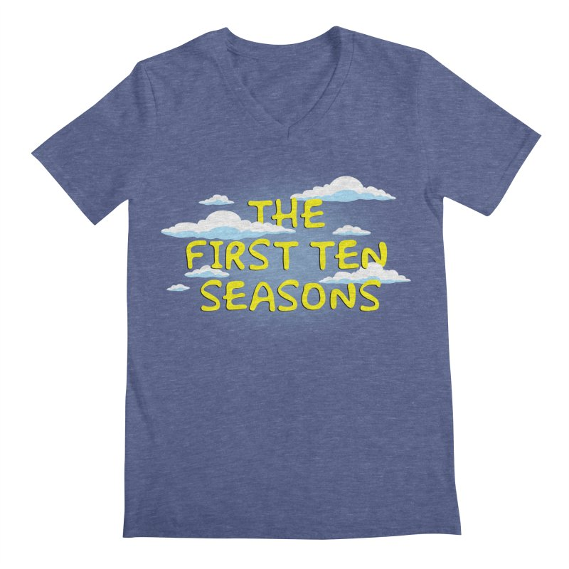 Best. Episodes. Ever. Men's Regular V-Neck by Made With Awesome