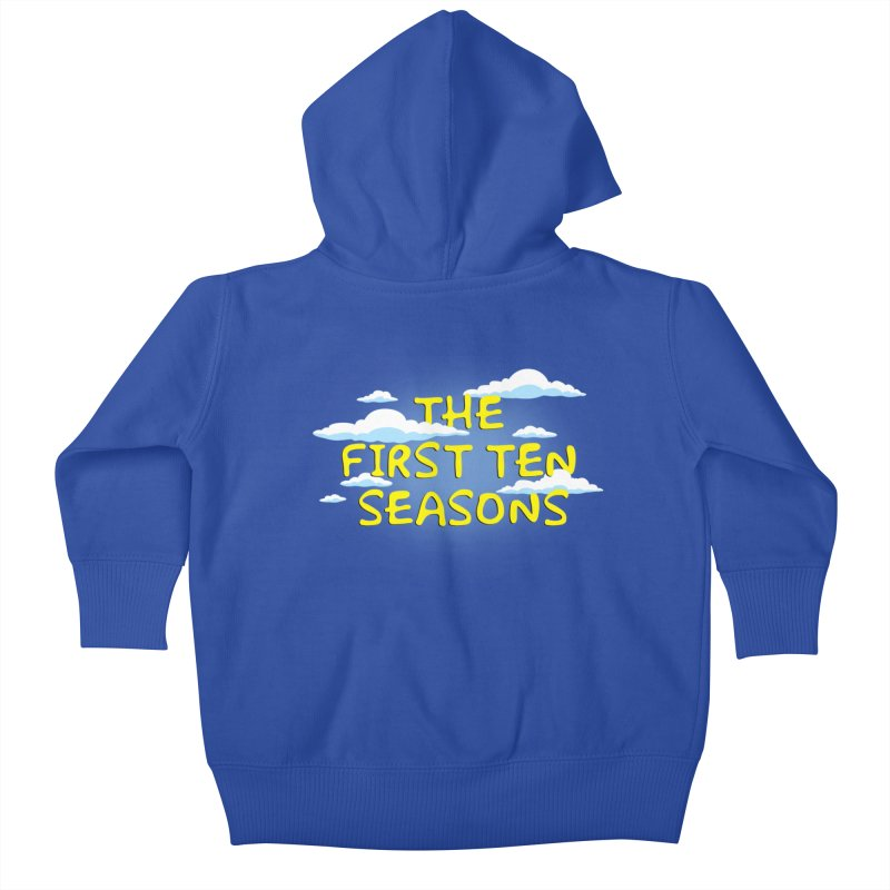 Best. Episodes. Ever. Kids Baby Zip-Up Hoody by Made With Awesome