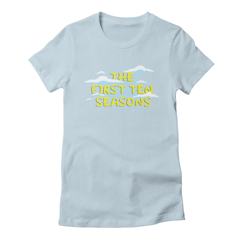 Best. Episodes. Ever. Women's Fitted T-Shirt by Made With Awesome
