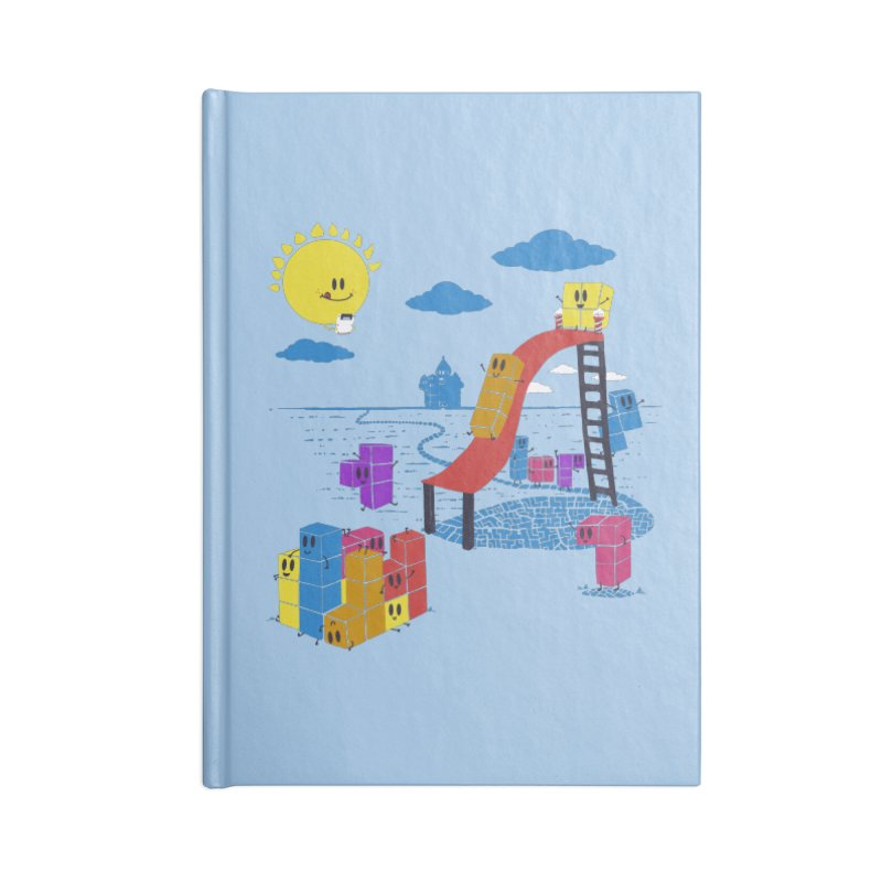 Playtime Accessories Blank Journal Notebook by Made With Awesome