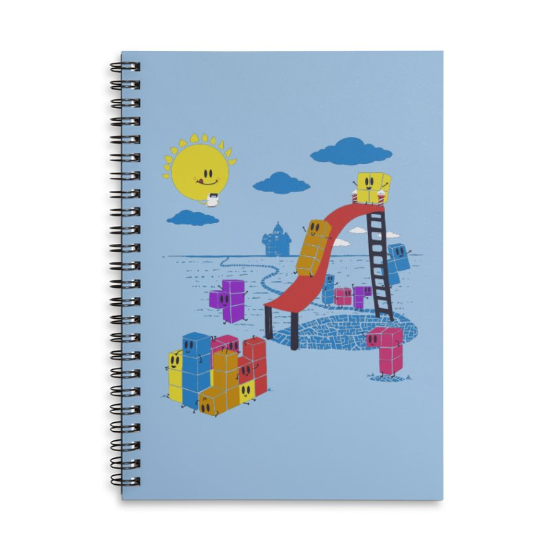 Playtime Accessories Lined Spiral Notebook by Made With Awesome