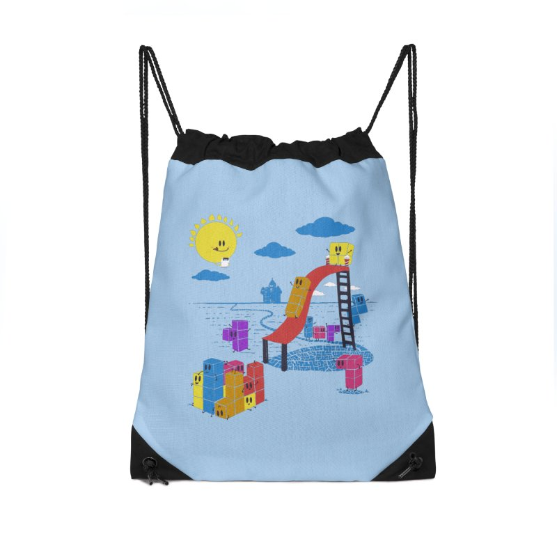 Playtime Accessories Drawstring Bag Bag by Made With Awesome