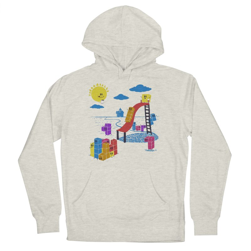 Playtime Men's French Terry Pullover Hoody by Made With Awesome