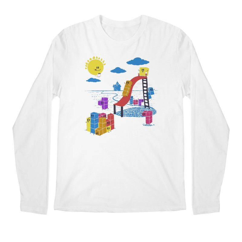 Playtime Men's Regular Longsleeve T-Shirt by Made With Awesome