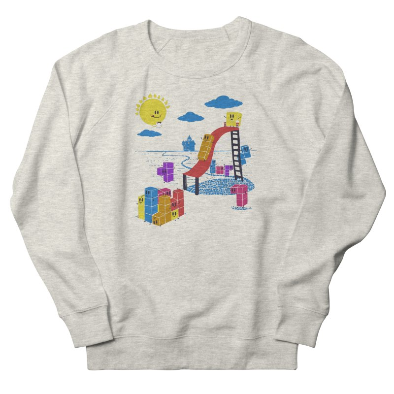 Playtime Men's French Terry Sweatshirt by Made With Awesome