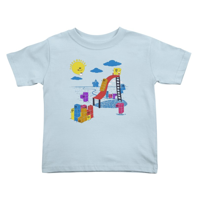 Playtime Kids Toddler T-Shirt by Made With Awesome