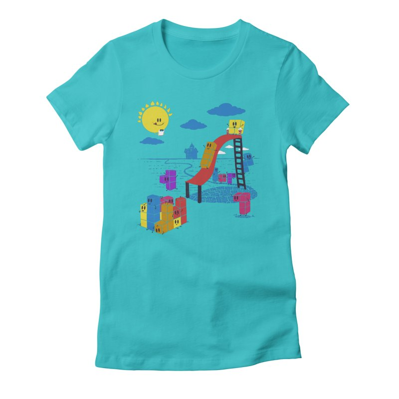 Playtime Women's Fitted T-Shirt by Made With Awesome