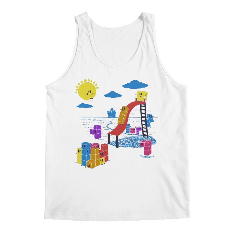 Playtime Men's Regular Tank by Made With Awesome