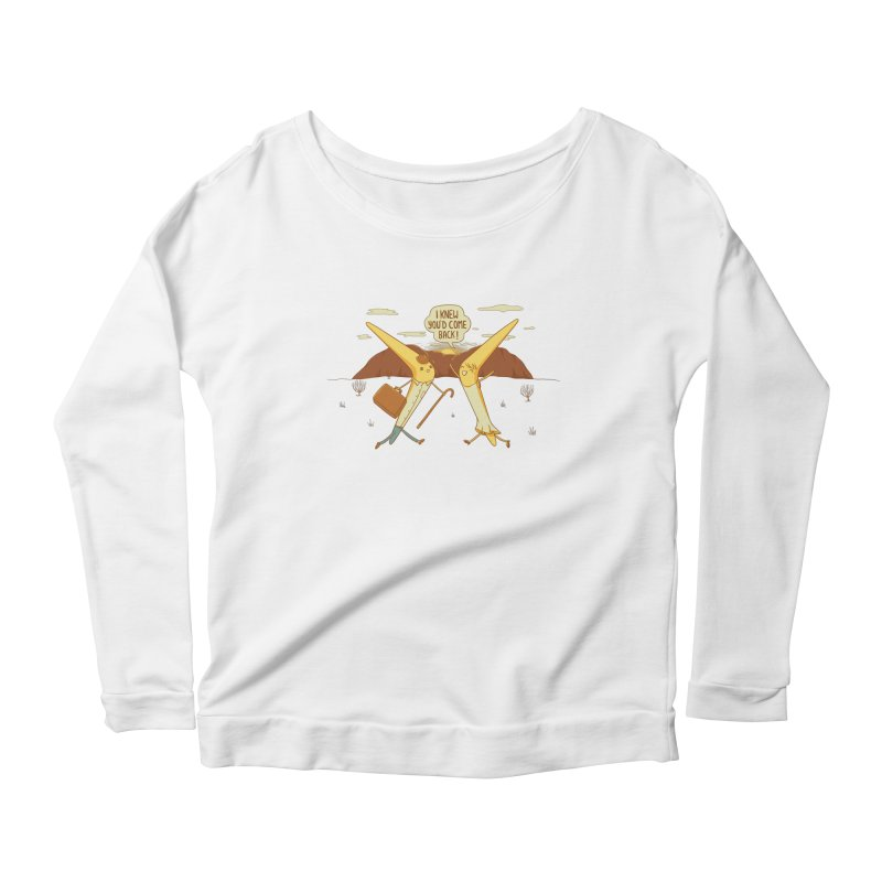Classic Love Story Women's Scoop Neck Longsleeve T-Shirt by Made With Awesome