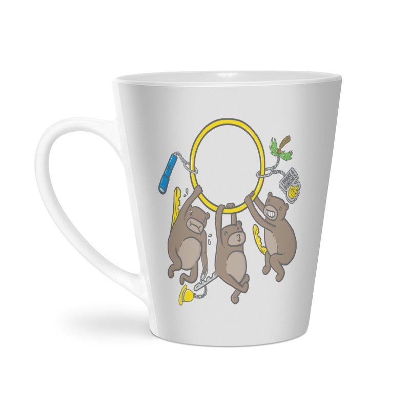 MonKEYS Accessories Latte Mug by Made With Awesome