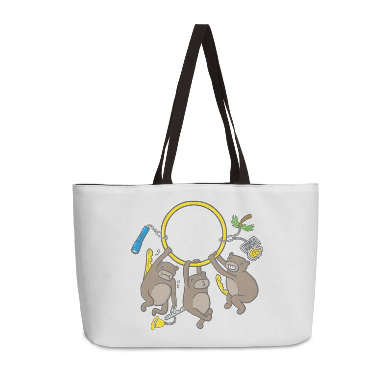 MonKEYS Accessories Weekender Bag Bag by Made With Awesome