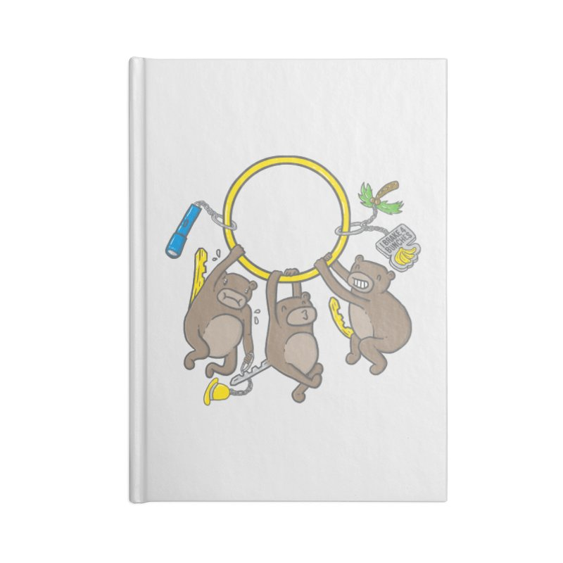 MonKEYS Accessories Blank Journal Notebook by Made With Awesome
