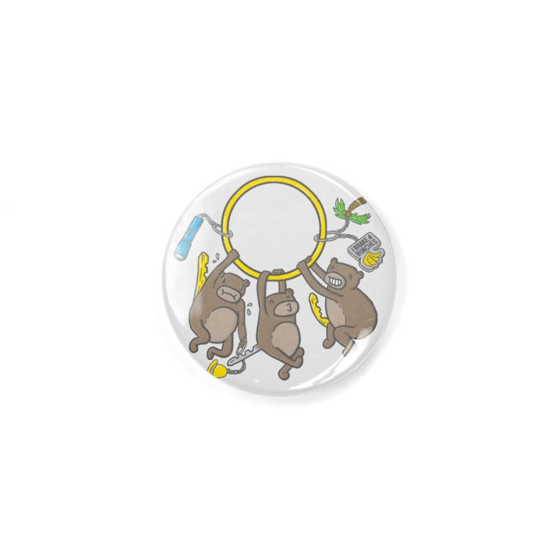 MonKEYS Accessories Button by Made With Awesome