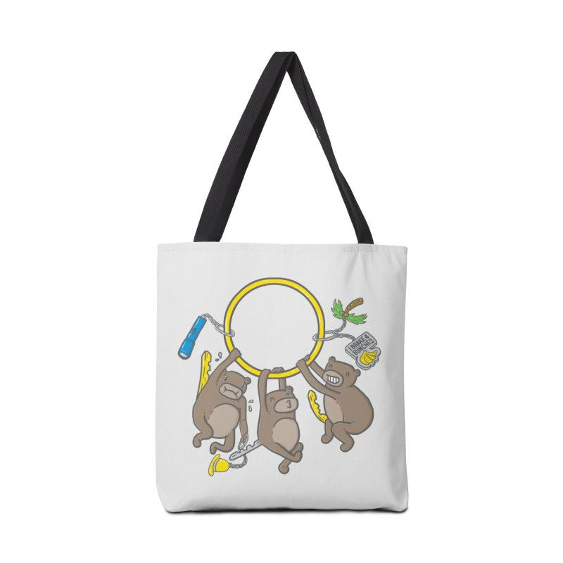 MonKEYS Accessories Tote Bag Bag by Made With Awesome