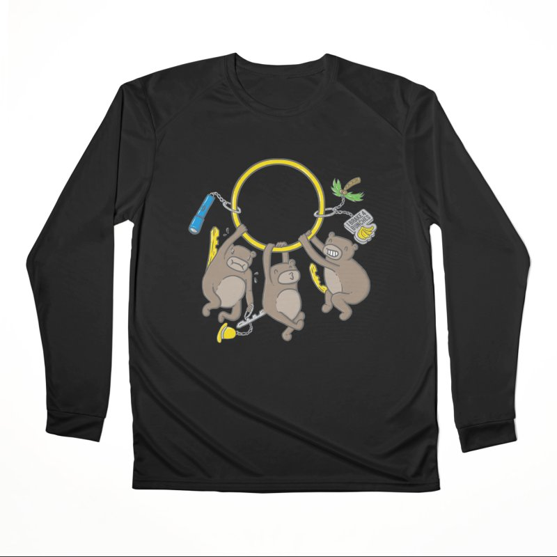 MonKEYS Men's Performance Longsleeve T-Shirt by Made With Awesome