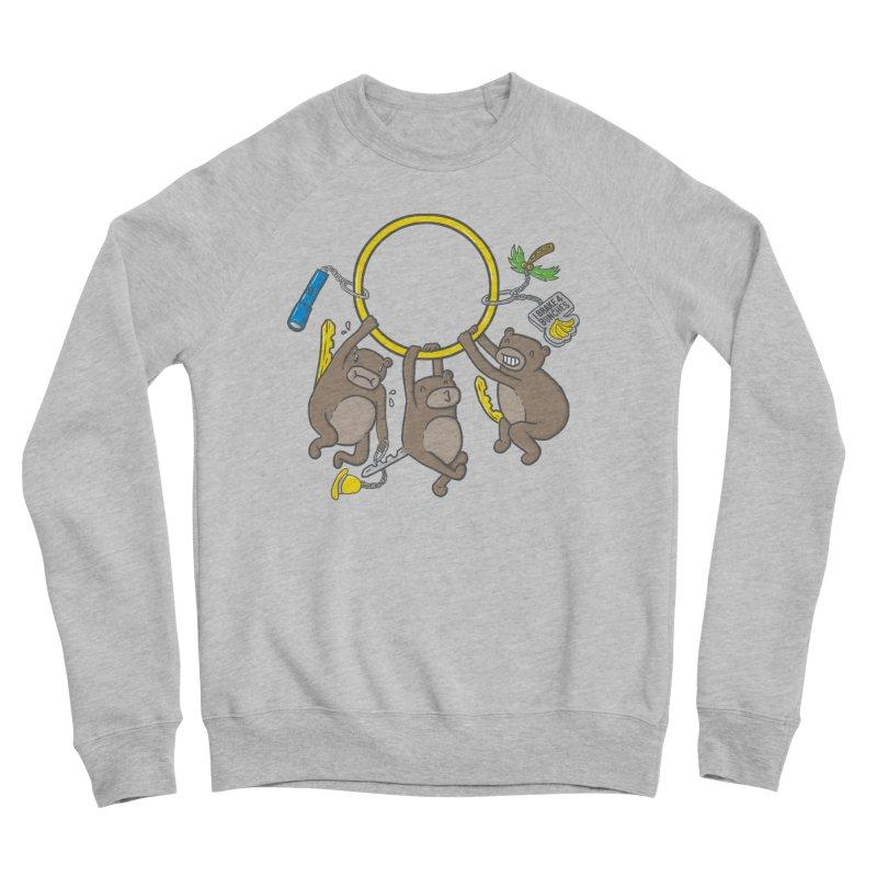 MonKEYS Women's Sponge Fleece Sweatshirt by Made With Awesome