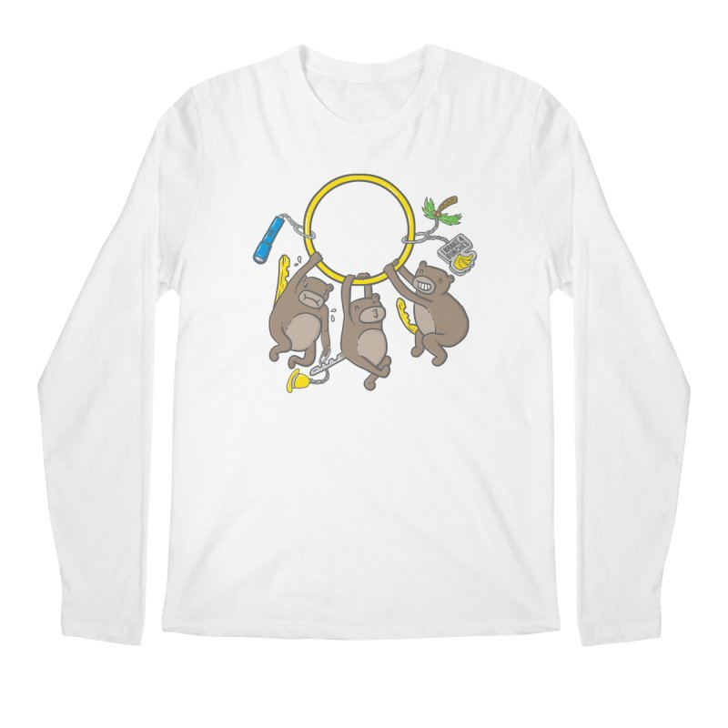 MonKEYS Men's Regular Longsleeve T-Shirt by Made With Awesome