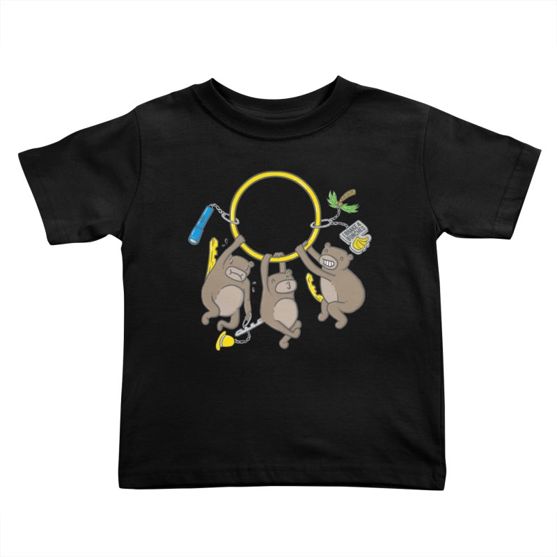 MonKEYS Kids Toddler T-Shirt by Made With Awesome