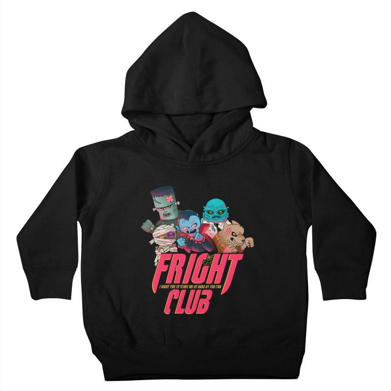 Fright Club Kids Toddler Pullover Hoody by Made With Awesome