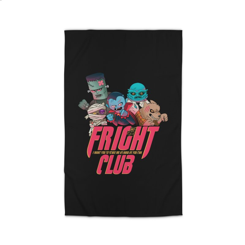 Fright Club Home Rug by Made With Awesome
