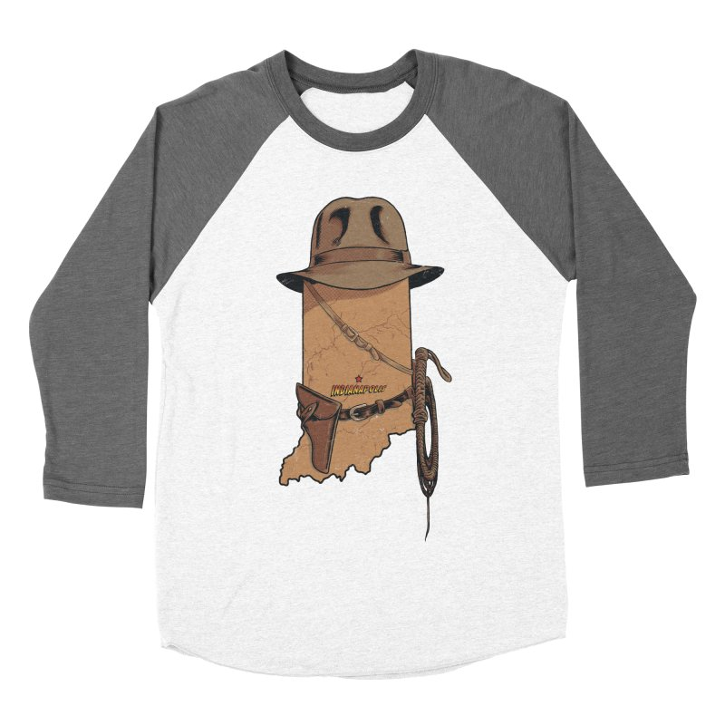 Indy Women's Baseball Triblend Longsleeve T-Shirt by Made With Awesome