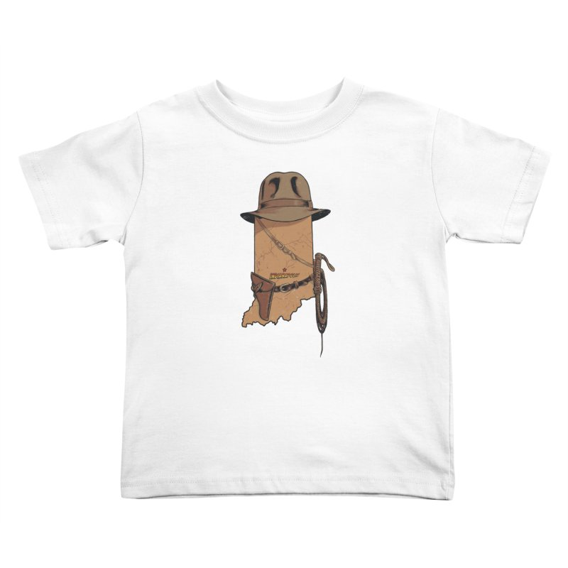 Indy Kids Toddler T-Shirt by Made With Awesome